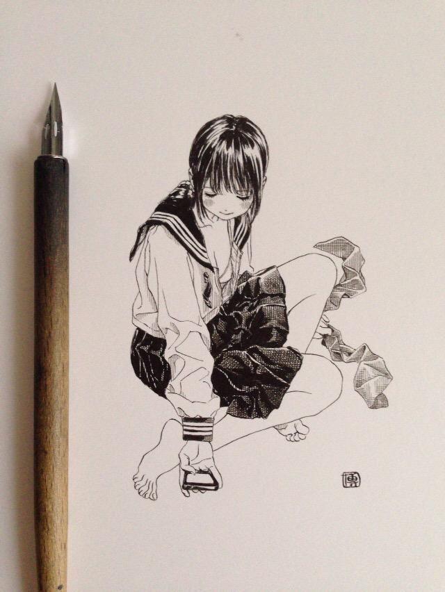 博/ゆめくり3巻発売中 @siiteiebahiro 7月5日 ひっそり自撮りをたしなむ女学生。 pic.twitter.com/9Z0Cw6TI3B CJLvezhUsAABMKQ.jpg:large (640×852)