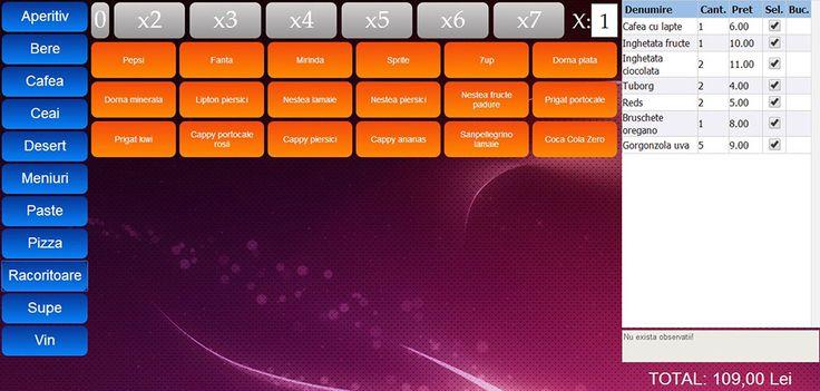 Unity - Software HoReCa dezvoltat de ARI-Studio