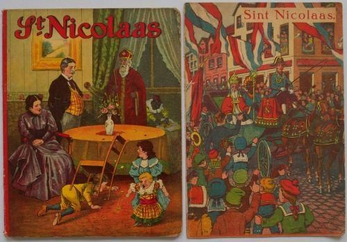 St. Nicolaas Sinterklaas boekje ca. 1920
