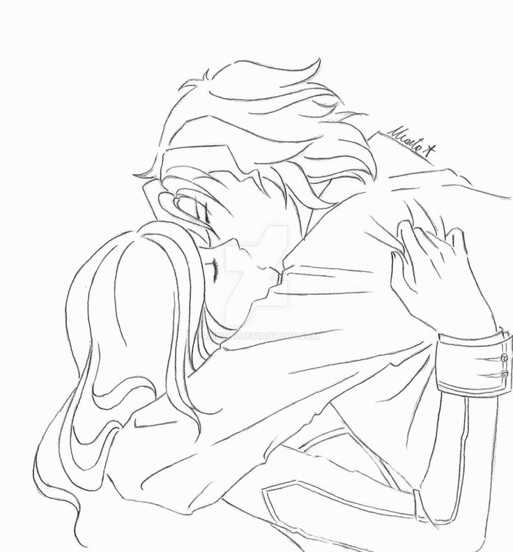 First kiss by Reika77.deviantart.com on @DeviantArt #vampireknight #kiss #couple #love #anime #manga #fanart #OC