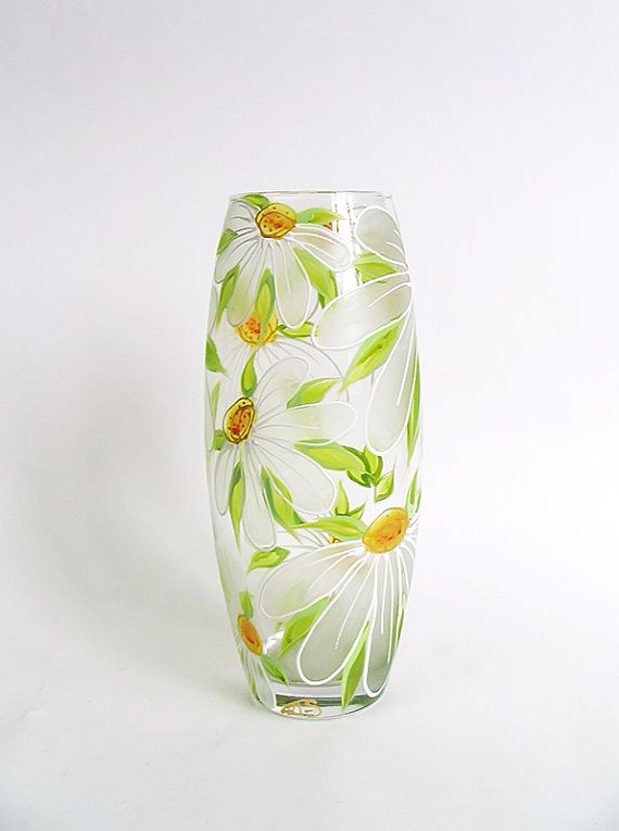 Best 25 Painted glass vases ideas on Pinterest
