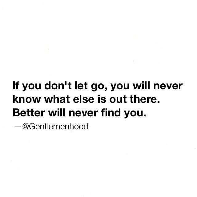 You Better Never Let It Go Eminem: If You Don't Let Go, You Will Never Know What Else Is Out