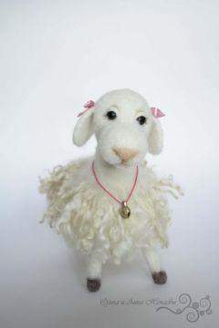 Мастер класс по валянию овечки | МАCTЕРскаЯ