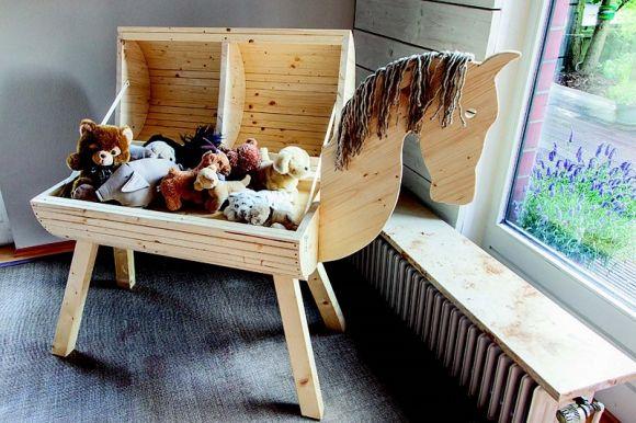 So bauen Sie ein Holzpferd in nur 48 Stunden