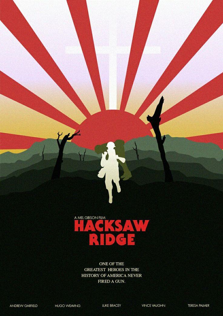 Resultado de imagen para hacksaw ridge poster tumblr