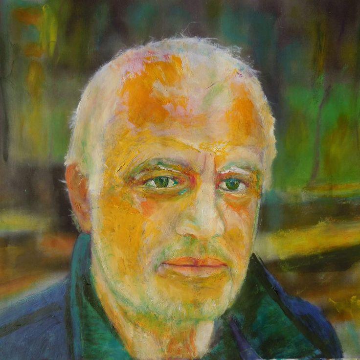 Self portrait (oil) - vissarion g