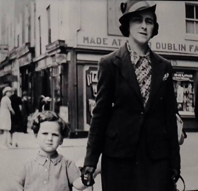 Terry Wogan with his Mam in Dublin