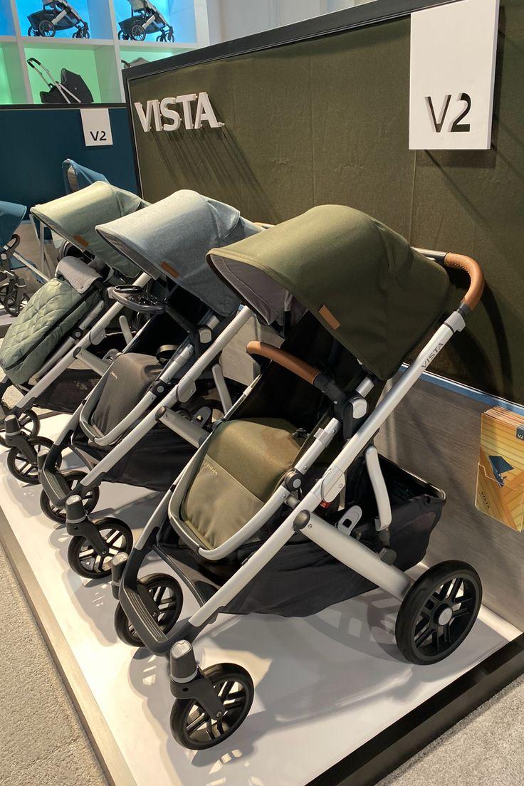 UPPAbaby Vista V2 2020 Stroller in Bryce Toddler