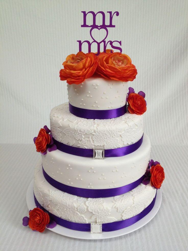17 Best ideas about Orange Wedding Cakes on Pinterest Orange big