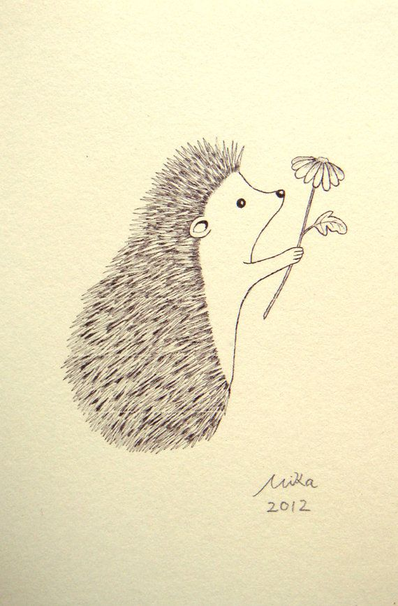 Just for you The hedgehog has a very prickly exterior - but thats