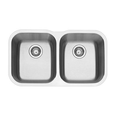 BLANCO 400008 Essential Double Bowl Undermount Sink