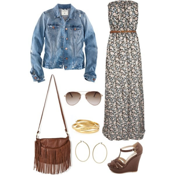 Modern Hippie Outfit My Polyvore Outfits Pinterest Floral The O 39 Jays And Hippie Outfits