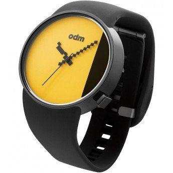 Reloj Amarillo Odm Studio Correa Gel Negra http://www.tutunca.es/reloj-amarillo-odm-studio-correa-gel-negra