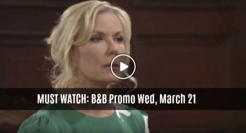 MUST WATCH The Bold And The Beautiful Preview Video Wednesday, March 21: Steffy Upset, Brooke Betrays Her Trust