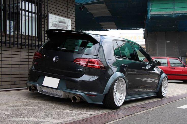Voomeran Body Kit Vw Golf Mk7 Tuning Photo Vw Traume Body Golf Kit Mk7 Photo Traume Tuning Voo Autos Und Motorrader Volkswagen Golf Getunte Autos