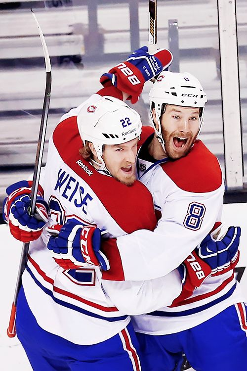Dale Weise & Brandon Prust • Montreal Canadiens • Source: ryankesler.co.vu