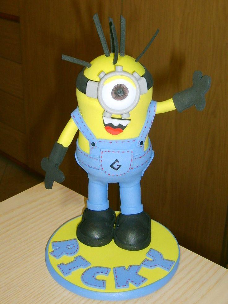 minion cake topper torta