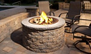 Stone Outdoor Gas Fire Pit Kits Outdoor Fire Pit Kits   Traditional   Fire Pits    Ep Henry