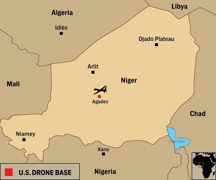 """2016-09-29 For years, the U.S. operated from an air base in Niamey, Niger's capital, but in early 2014, Capt. Rick Cook, then chief of U.S. Africa Command's Engineer Division, mentioned the potential for a new """"semi-permanent … base-like facility"""" in Niger. That September, the Washington Post's Craig Whitlock exposed plans to base drones at Agadez."""