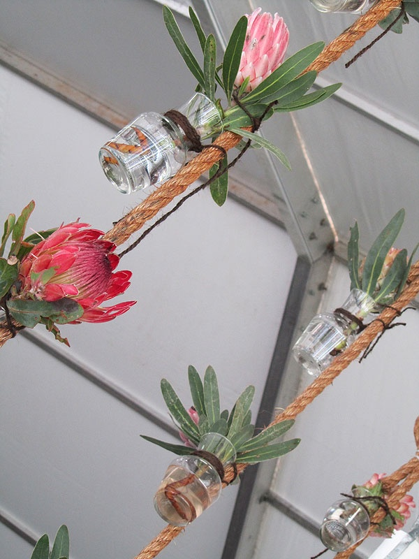 Pretty #protea #decor at this year's Constantia #Food & #Wine Festival. #PicknPay was a sponsor!