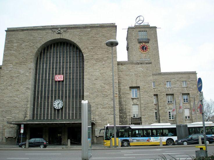 Stuttgart Station 1928 § Stuttgart, Germany § Paul Bonatz § Railway Station