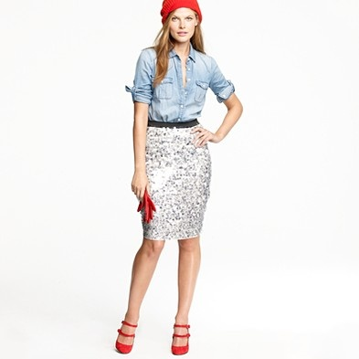 Dreaming of this insanely expensive J Crew skirt!