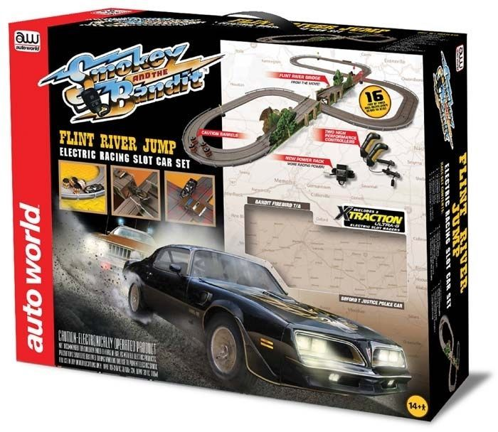 Other Slot Cars 776: Auto World 1:64 Smokey And The Bandit Slot Car Set W Jumps 16 Rdzw0288 -> BUY IT NOW ONLY: $129.99 on eBay!