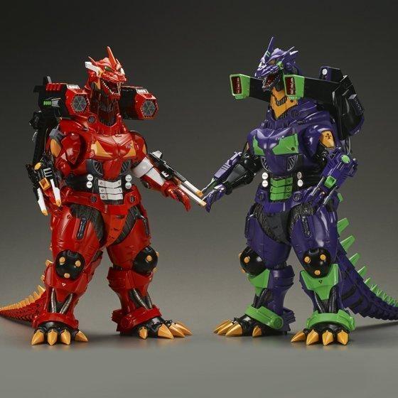 Godzilla x Evangelion 30cm Series Mechagodzillas