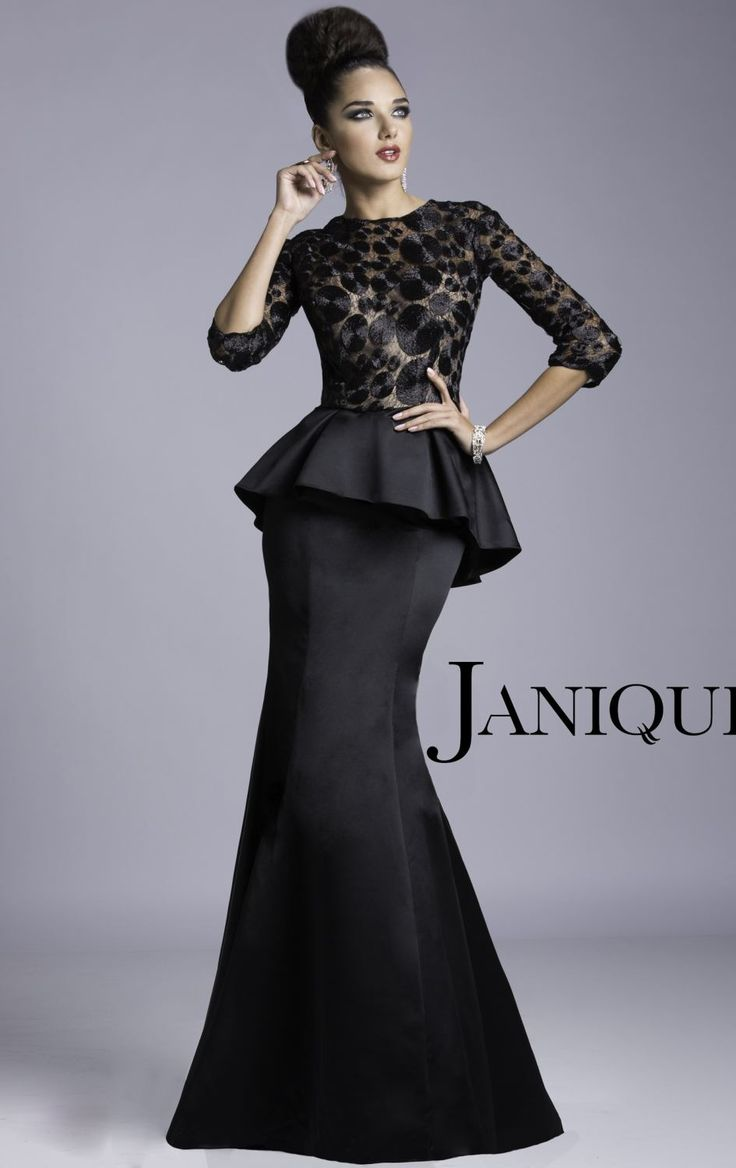 This would be perf minus the peplum  -------  18 Stunning Evening Gowns - Fashion Diva Design