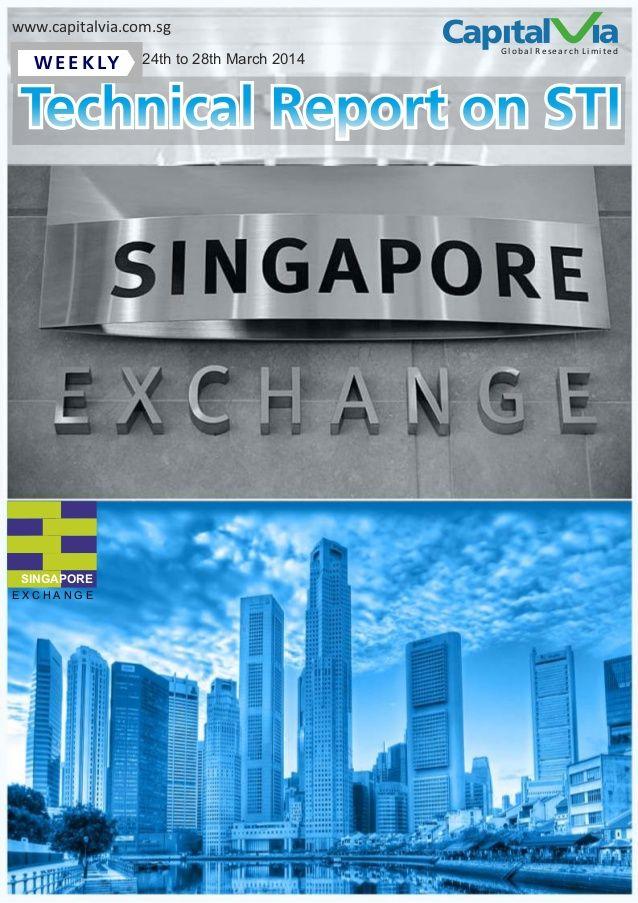Weekly Technical Report on Singapore STI & Malaysia KLCI (24-28 March 2014) by Alex Gray via slideshare