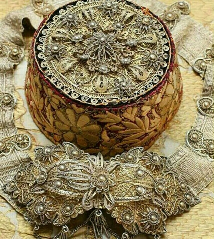 Traditional Turkish Wedding Hat