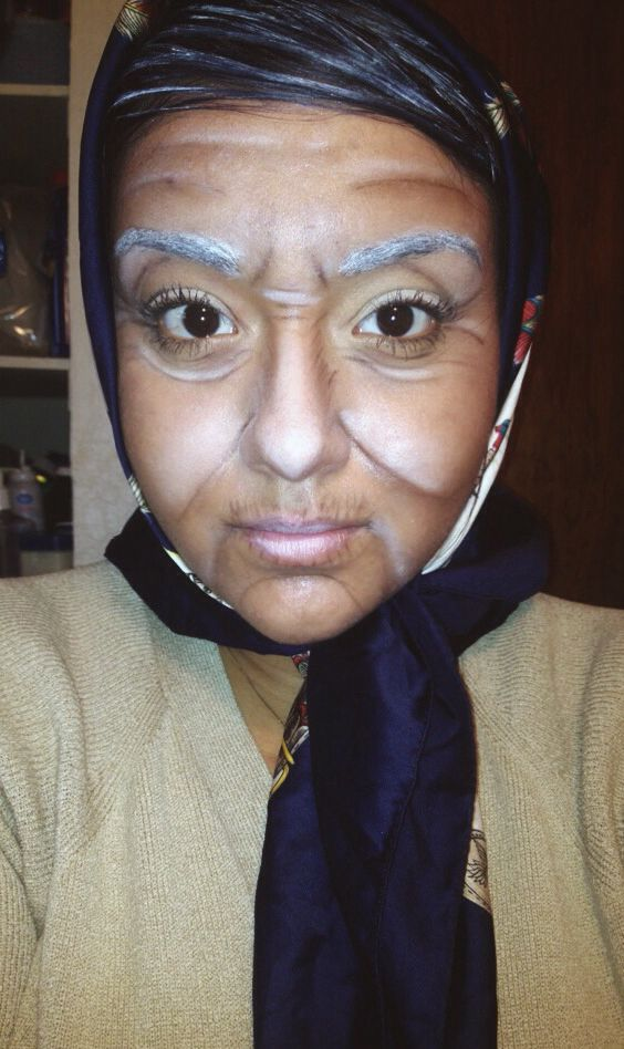 17 best old age makeup images on Pinterest | Old age makeup ...