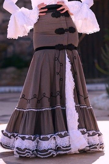 2a1c6c5ba faldas de rayas camperas