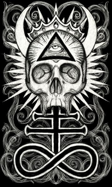 Illuminati Skull by ShayneOtheDead on DeviantArt
