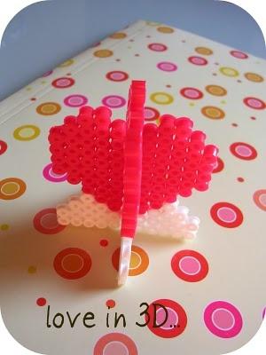 hama beads 3D