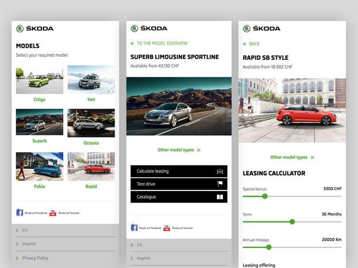 Skoda QR app for AMAG by Sarah Geissberger