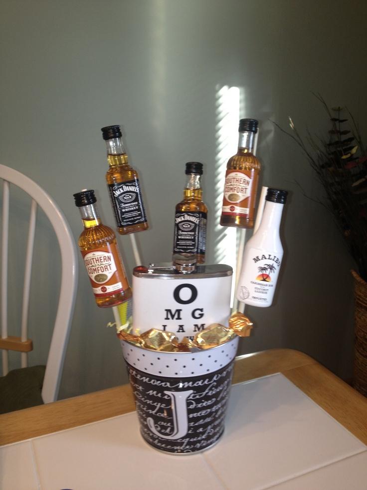 Groomsmen gift baskets :)