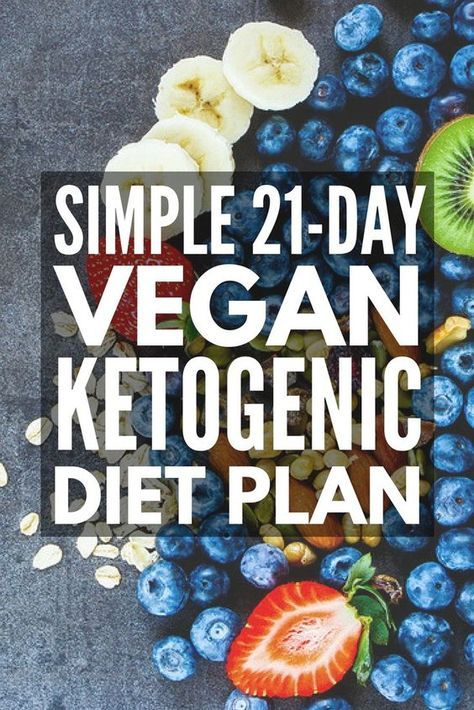 Vegan Ketogenic Diet: 21-Day Vegan Keto Diet Plan