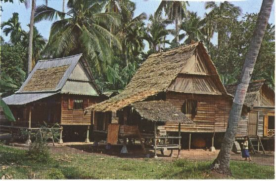 Malay Kampong Houses still common in the 1970s. Very beautiful old pics!!! - SkyscraperCity