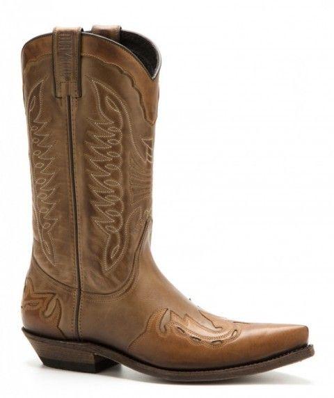 b9c6046e5 Puedes comprar en nuestra tienda online estas botas cowboy unisex Mayura en  combinación de cuero vacuno
