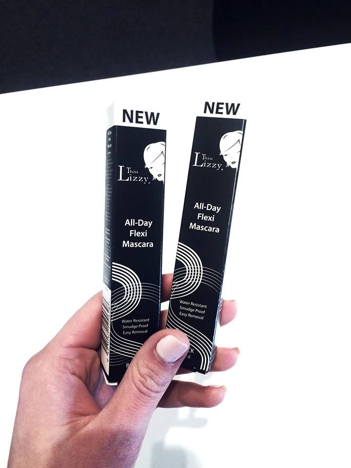 The new Thin Lizzy All-Day Flexi Mascara is here! Say goodbye to smudging, clumping, running or flaking and hello to the magic of #ThinLizzyBeauty