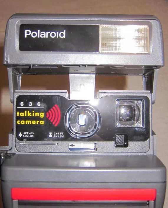 Vintage Polaroid 636 Talking Camera