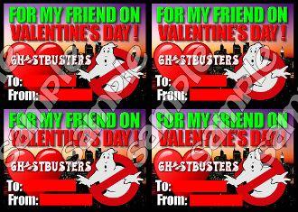 Ghostbusters Valentine Page Valentines Pinterest Valentines