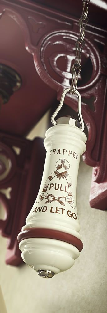 Thomas Crapper Cistern Pull