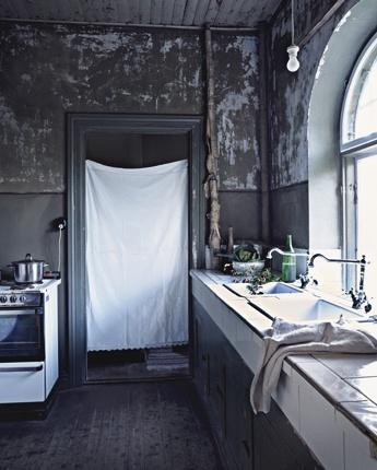 Stylist: Mia Anderberg  Photo: Jonas IngerstedtKitchens Interiors, Kitchens Design, Interiors Design Kitchens, Loft Kitchens, Rustic Decor, Rustic Kitchens, Grey Kitchens, Kitchen, Beautiful Decay