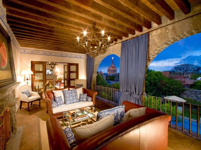Passion For Luxury : Casa De Sierra Nevada in San Miguel De Allende, Mexico
