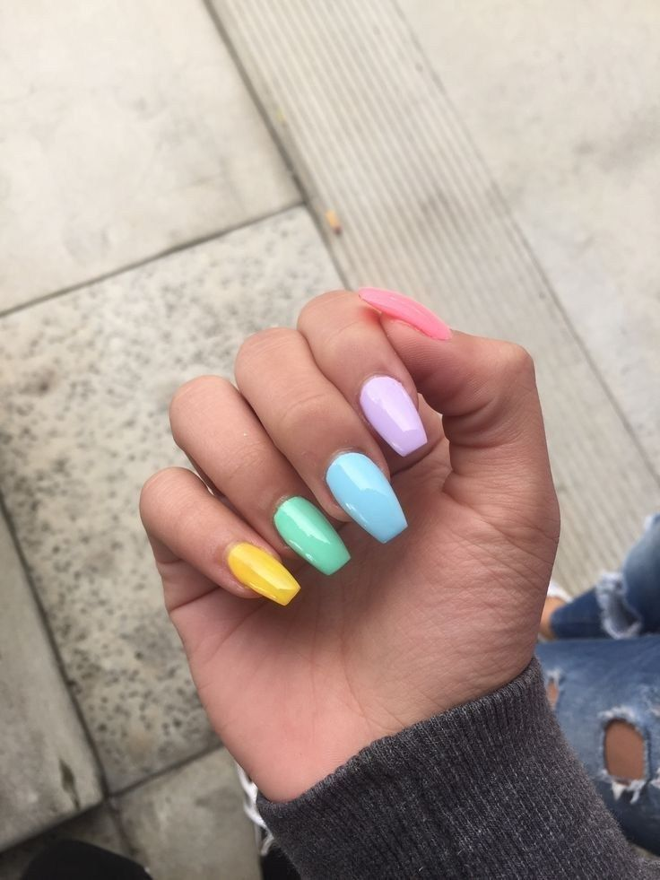 Spring 75 Best Spring Nail Color Ideas For 2019 20 Spring Nail