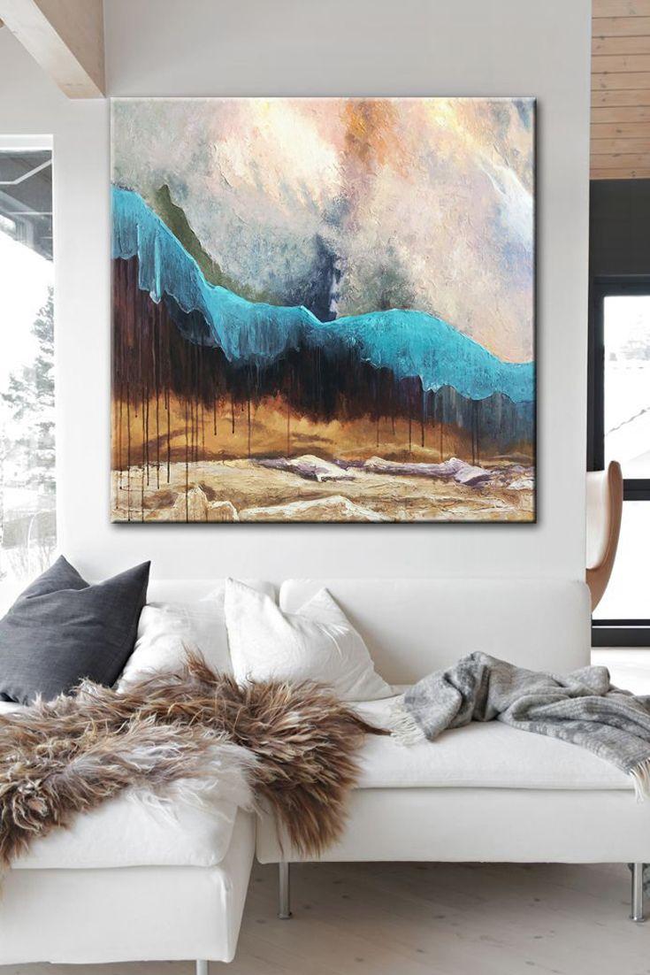 Wondrous Large Abstract Art Original Beige Painting Brown Painting Download Free Architecture Designs Scobabritishbridgeorg