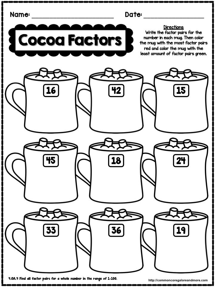 Multiplication Coloring Sheet 4th Grade : 196 best math ideas images on pinterest