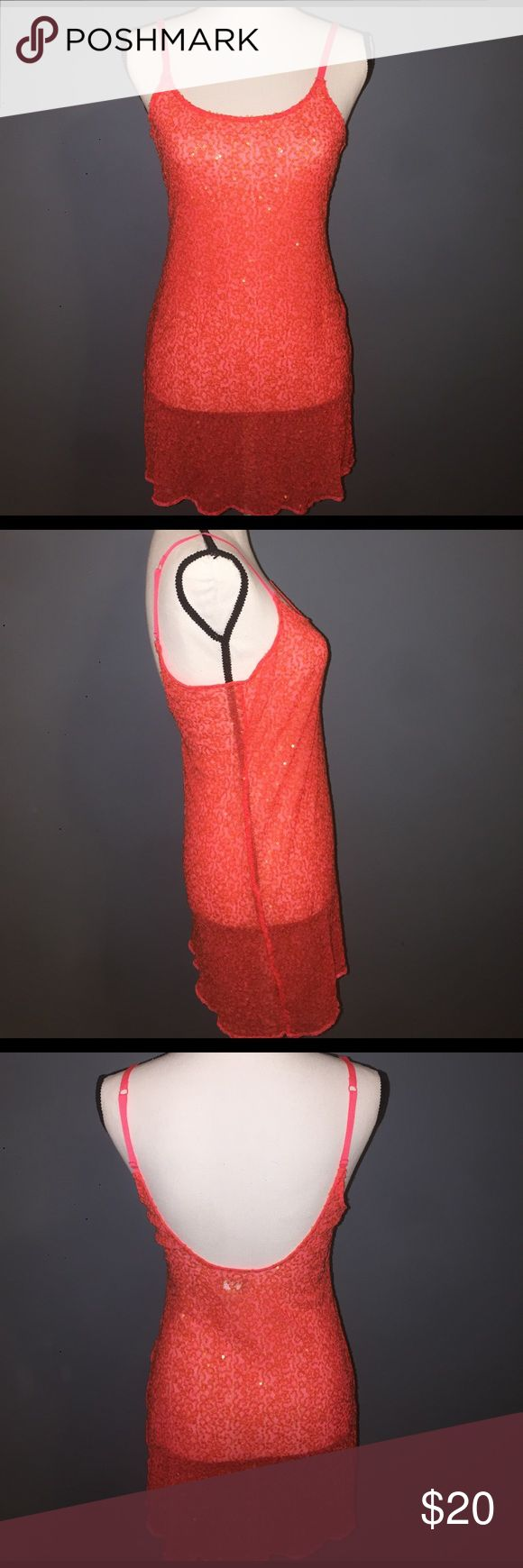 Intamitely Free People sequence dress Free People (Intamitely Free People) sequence dress with adjustable straps. Super sexy and fun! Size small Free People Dresses